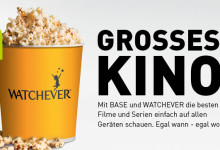 Watchever – Video-Flatrate für BASE Kunden