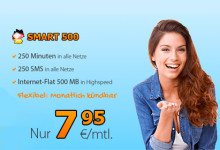 DeutschlandSIM Aktion SMART 500
