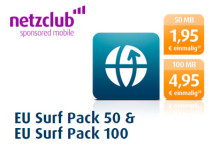 netzclub EU Surf Packs