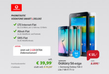 Phonetastic Monday: Vodafone L Deluxe + Galaxy S6 Edge und Tab 3