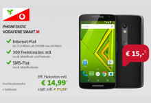 sparhandy Phonetastic Monday: Vodafone Smart M mit Top-Smartphone