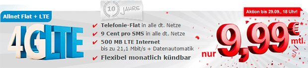 Samply Allnet-Flat LTE