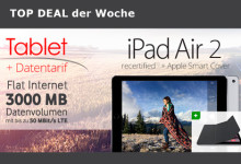 modeo Daten-Flat + iPad Air 2