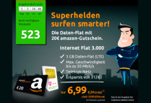 crash-tarife Ttelekom Internet-Flat 3000