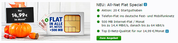 WEB.de All-Net Special