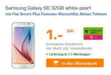 Saturn mobilcom-debitel Samsung Galaxy S6 32GB Aktion