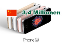 iPhone 5 SE 3,4 Millionen in China