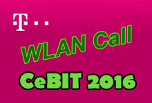 Telekom CeBIT 2016 Wlan Call
