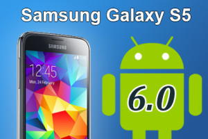 Samsung Galaxy S5 - Android 6.0