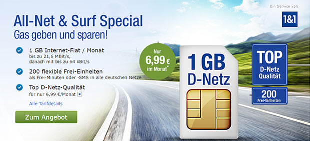 GMX All-Net Surf Special