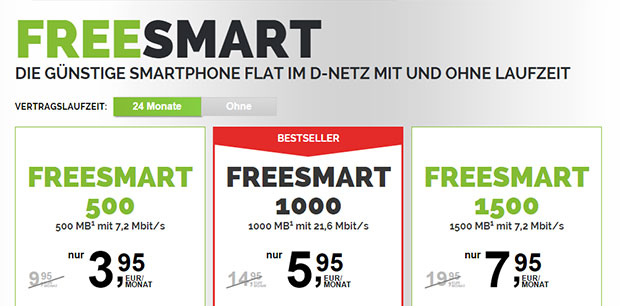 freenetmobile - Freesmart Tarife