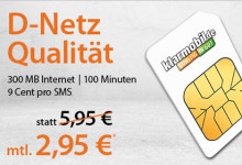 klarmobil - 300 Mb Internet Aktion