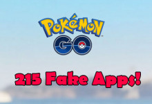 Pokemon GO - 215 Fake Apps