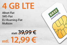 handyflash - Sim-Only Deal 4 GB EU-Flat