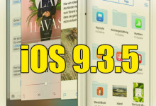 Apple iOS 9.3.5 Update