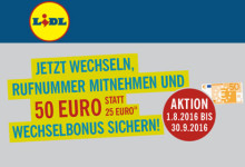 LIDL Connect Aktion