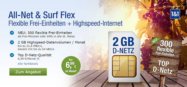 GMX All-Net Surf Flex