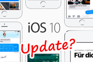 iOS 10 Update Probleme