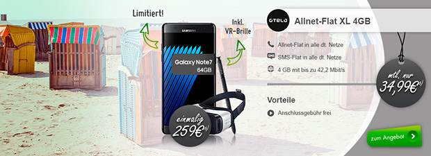 Otelo - Upgrade Angebot