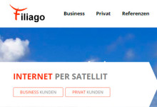 Filiago - Internet per Satellit