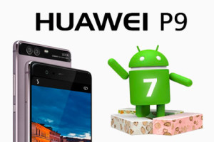Huawei P9 Android 7