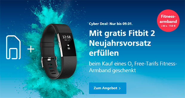 o2 - Fitbit 2 Angebot