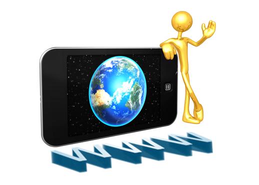 Handy mit einem unbegrentzen Internetzugang