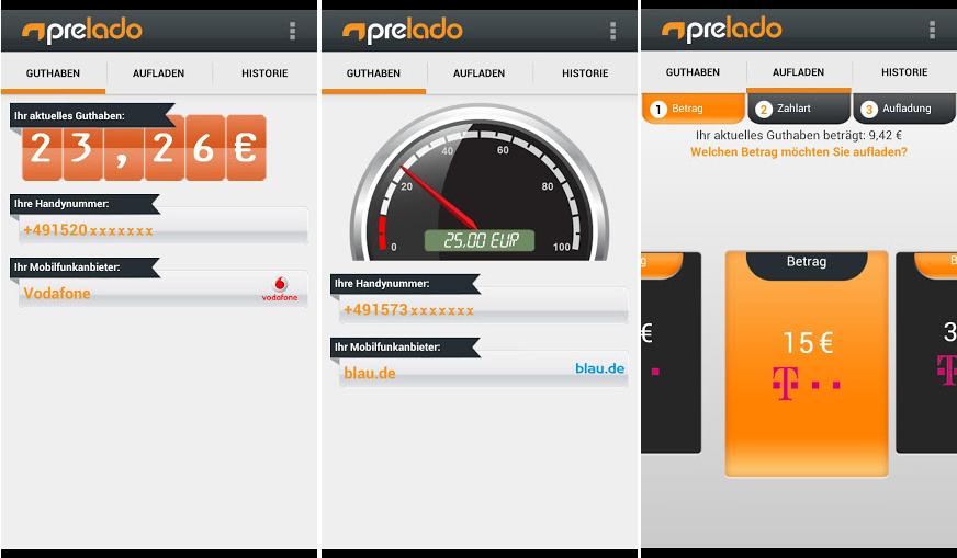 Screenshots von Prelado in Android