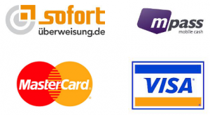 Prelado: mögliche Zahlungsmethoden
