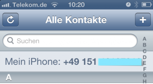 Mein iPhone