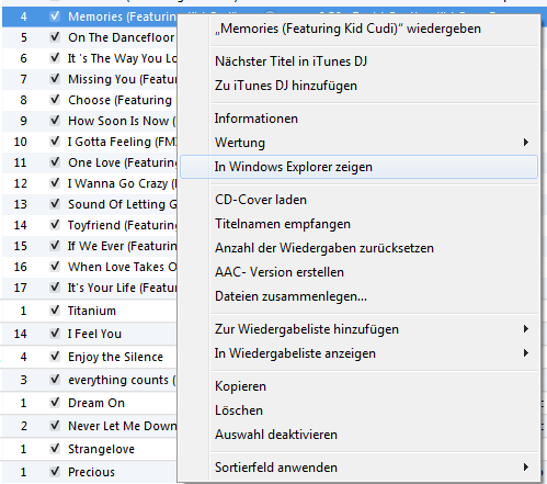 im windows explorer zeigen