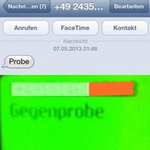 SMS simquadrat