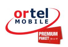 Ortel Mobile mit Premium Pakets
