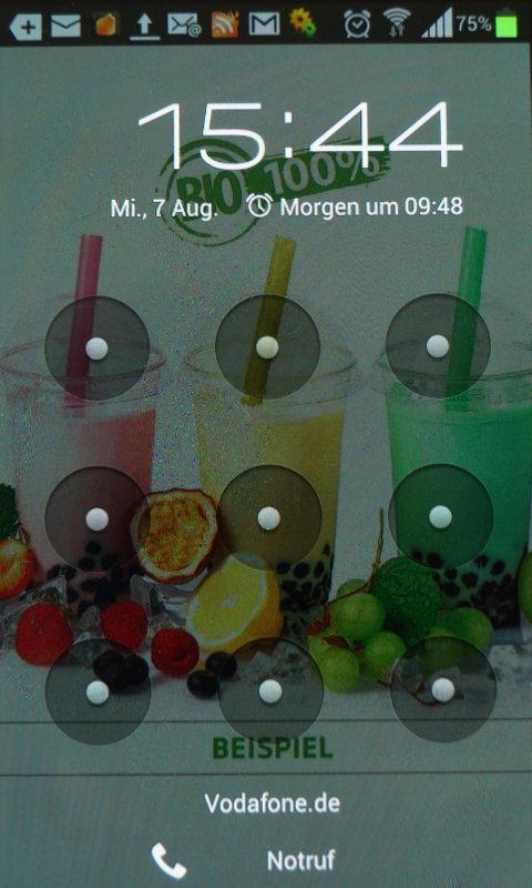 Abalo App - Werbung auf dem Smartphone - So sieht es Aus