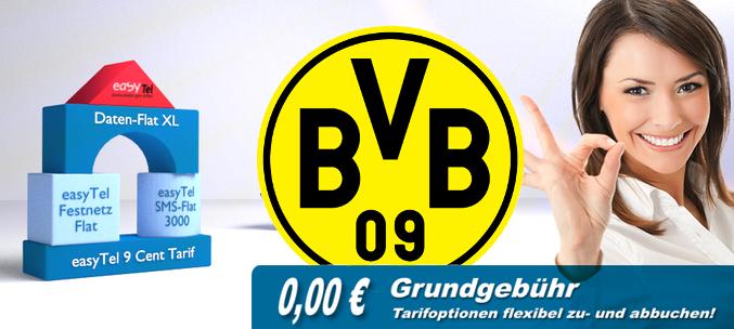 easyTel - mobil9 - BVB Prepaid-Tarif