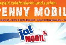 Logos: ja! mobil und Penny Mobil