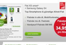 maXXim mit Tarif Flat XS und einem Smartphone
