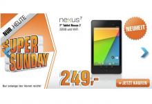 nexus 7 wi-fi 32 gb nur 249 euro bei Saturn