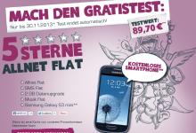yourfone 5 Sterne Allnet Flat mit Musik-Flat