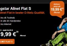 Allnet Flat S bei Congstar für 19,99 Euro im Monat