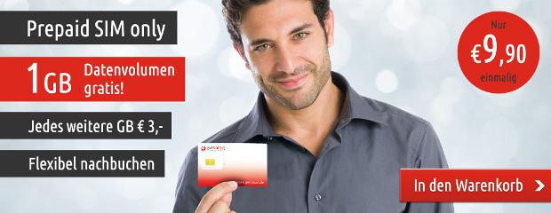 getsmart - neuer Prepaid Anbieter