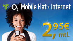 Eteleon:  o2 Mobile Flat plus Internet