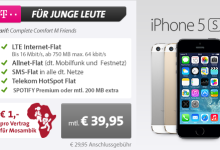 Allnet Flat im Telekom Netz iPhone 5s