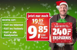 crash tarife plus Klarmobil eine Allnet-Flatrate unter 10 Euro