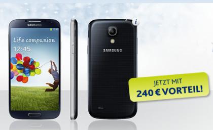 EWE Tarifaktion Samsung Galaxy S4 für 1 Euro