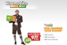 Monde und Klarmobil Deal Allnet Flat im Telekom Netz unter 10 Euro