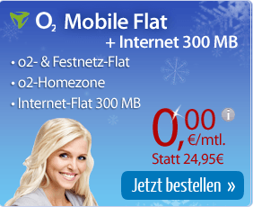 o2 Mobile Flat bei eteleon komplett kostenlos