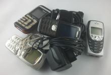 Alte Smartphones und Handys