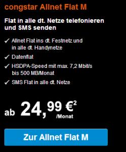 Congstar Allnet Flat M