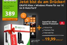 crash tarif allnet flat plus nokia lumia 520 und xbox für 7 Euro 90 Cent